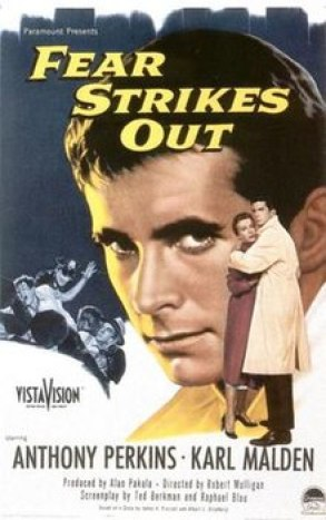 Image result for anthony perkins in fear strikes out