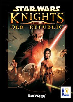 Star Wars: Knights of the Old Republic PC box cover
