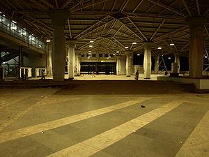 Panvel Railway Station at night