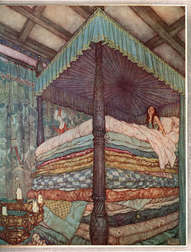 The Princess and the Pea, Hans Christian Andersen