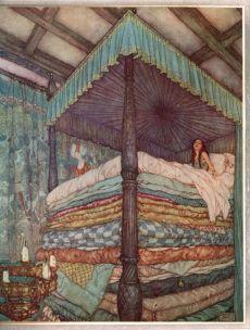 Edmund Dulac - Princess and pea.jpg