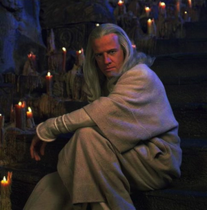 Christopher Lambert as Raiden in Mortal Kombat