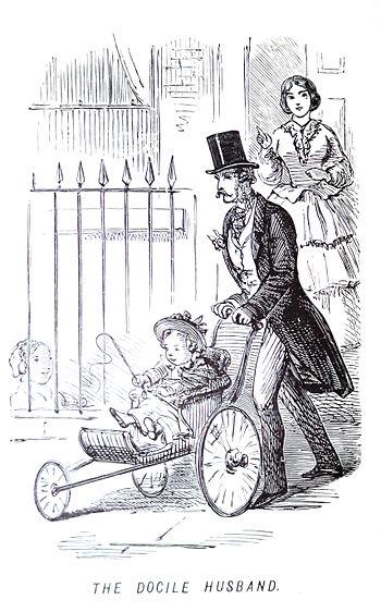 1847 stroller from the John Leech Archives