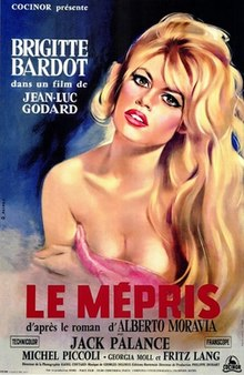 Movie Poster for Le Mepris