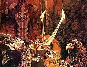 SkekUng and SkekSil perform the Trial By Stone