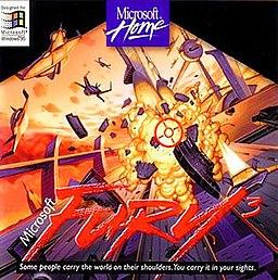 Fury3 arte de la caja