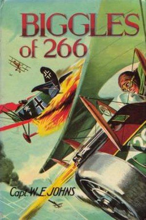 "Cover of ""Biggles of 266"""