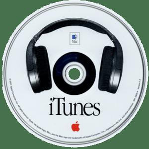 CD of iTunes v1.0 (2001)