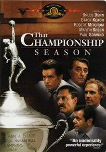 That Championship Season 1982 Film Wikipedia