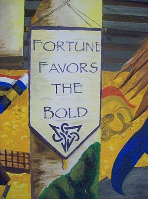 FOurtune Favors The BOld