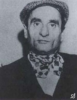 Mafia boss Pietro Torretta at his arrest in 19...