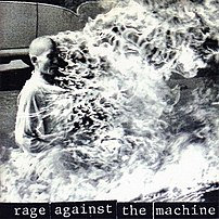 Rage Against the Machine album cover