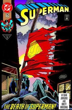 250px Superman75 Internet Collectively Sighs: SUPERMAN Is Going To Die? Again?