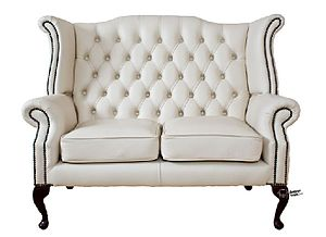 A Chesterfield sofa