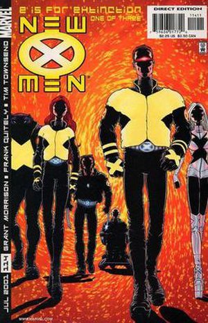 New X-Men #114, 2001. The start of Grant Morri...