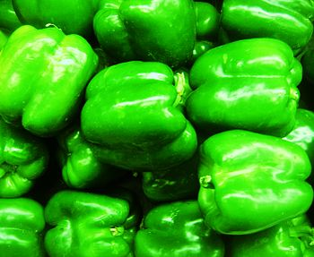 Grocery Store Green Bell Peppers