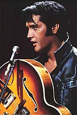 Elvis Presley in his '68 Comeback Special, airing on NBC, December 3, 1968