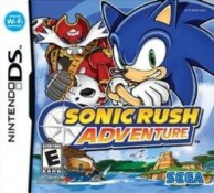 Sonic Rush Adventure nintendo ds box art