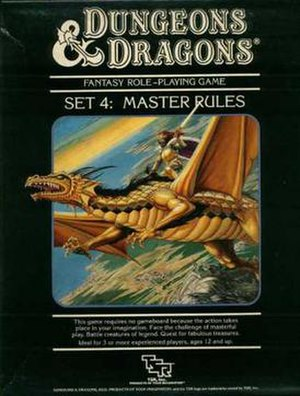 Dungeons & Dragons Master Rules