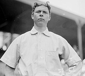 Starting pitcher Mordecai Brown