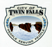 Official seal of Twin Falls, Idaho