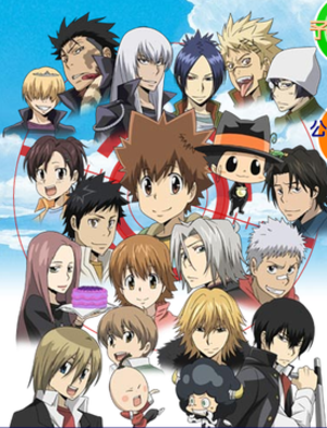 A montage of several of the series' characters...