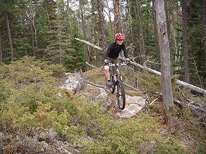 West hawk lake biking