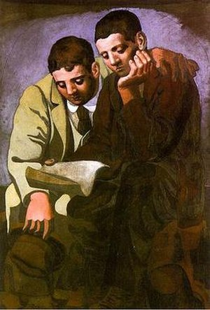 Reading the Letter (Picasso)