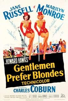Gentlemen Prefer Blondes (1953) film poster.jpg