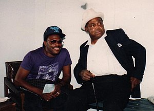 Joe Louis Walker with blues songwriting legend...