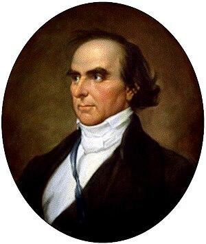 Portrait of Daniel Webster chosen by Senator K...