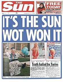 Its the Sun WOT WON it