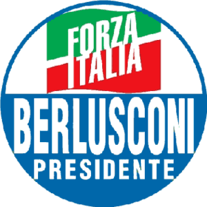 The logo of Forza Italia used in the 2006 elec...