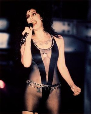 "Cher in the music video for ""If I Could T..."