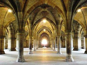 Glasgow University Cloister