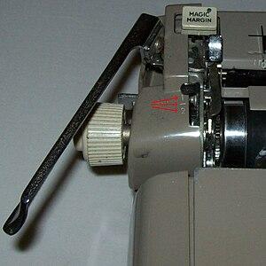 Detail of Royal typewriter