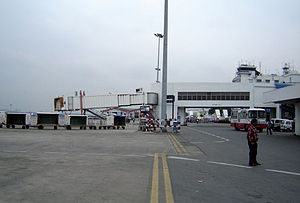 The airside of the International Terminal, Kolkata