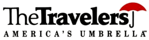 The Travelers logo, ca. 1993