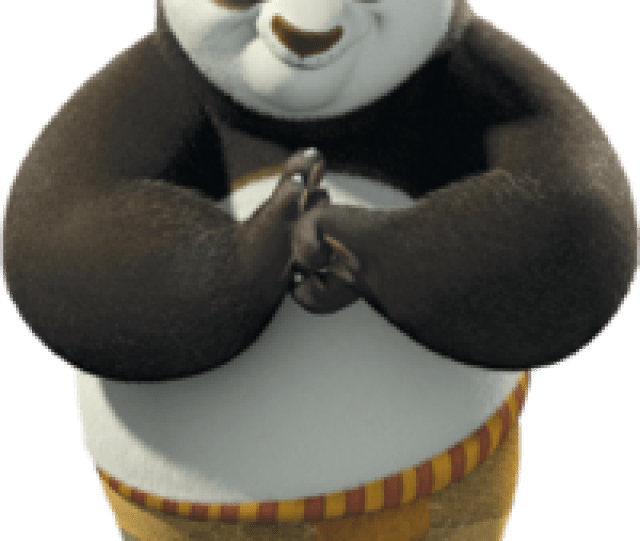 Po From Dreamworks Animations Kung Fu Panda Png