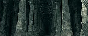 Moria, as seen in Peter Jackson's The Lord of ...
