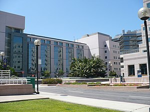 UCLA Medical Plaza is near the main entrance t...