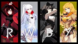 RWBY   Wikipedia Volume 5 cover  Genre  Science fantasy  action  adventure