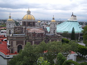 A view from Tepeyac Hill Where Juan Diego had ...