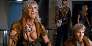 Khan and his followers in Star Trek II: The Wr...