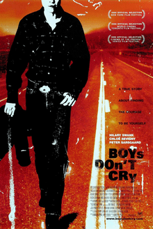 The Theatrical Release Poster For Boys Dont Cry Showing A Stylized Depiction Of