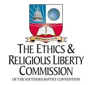 Logo of the Ethics & Religious Liberty Commission.