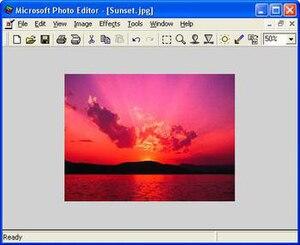 Microsoft Photo Editor - Wikipedia