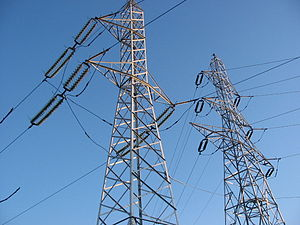 Transmission lines in Romania Of which the nea...
