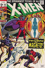 X-Men #63 (Dec. 1969), art by Neal Adams and Tom Palmer