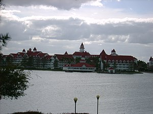 Disney's Grand Floridian Resort and Spa, seen ...